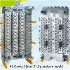 Self - Lock Stainless Steel 72 Cavity PET Preform Mould , P