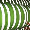 Green Fabric Reflective Safety Tape Vest Trim Strip Sew on