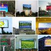 Outdoor Waterproof Led Display Screen Taxi Top Advertising